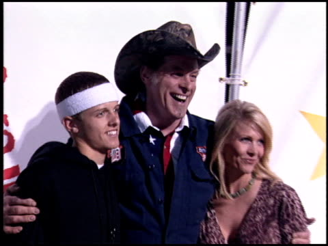 ted nugent at the rockin' the corps concert at camp pendleton in san diego california on april 1 2005 - ted nugent stock videos and b-roll footage