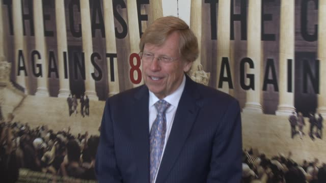 """ted olson at the hbo documentary """"the case against 8"""" los angeles premiere at directors guild of america on june 03, 2014 in los angeles, california. - アメリカ監督組合点の映像素材/bロール"""