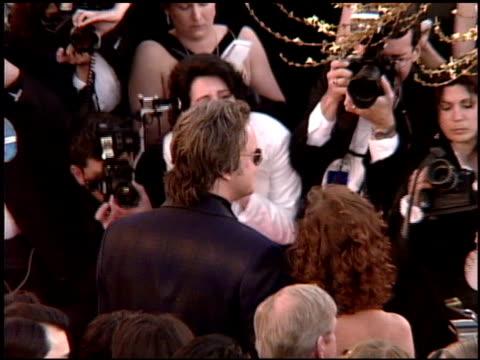 vídeos y material grabado en eventos de stock de ted turner at the 1995 academy awards arrivals at the shrine auditorium in los angeles california on march 27 1995 - 67ª ceremonia de entrega de los óscars