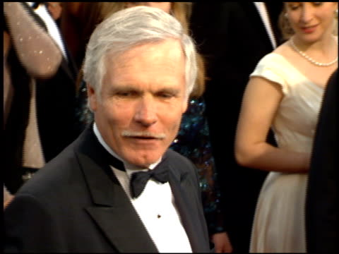 Ted Turner at the 1995 Academy Awards Arrivals at the Shrine Auditorium in Los Angeles California on March 27 1995