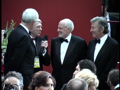 ted turner at the 74th academy awards at kodak theater hollywood - 74th annual academy awards stock videos & royalty-free footage