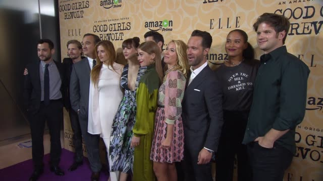 Teddy Bergman Hunter Parrish Jim Belushi Grace Gummer Erin Darke Daniel Eric Gold Genevive Angelson Anna Camp Chris Diamantopoulos Joy Bryant and...