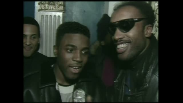 teddy riley interview with director lionel c. martin in 1988. - producer stock videos & royalty-free footage