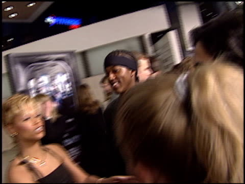 tee spence at the 'final destination 2' premiere at the cinerama dome at arclight cinemas in hollywood california on january 30 2003 - arclight cinemas hollywood video stock e b–roll