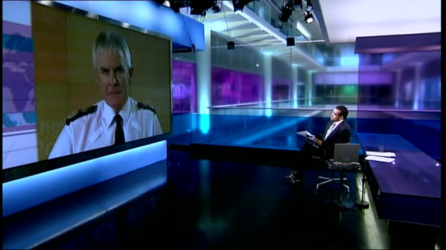 teenage alcohol consumption: public support increasing legal drinking age; t14080711 england: london/northwich: int chief constable peter fahy... - krishnan guru murthy stock videos & royalty-free footage