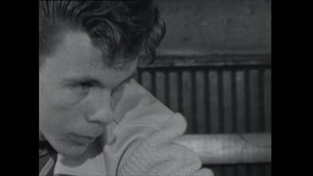 cu teenage boy playing pool - 1961 stock videos & royalty-free footage