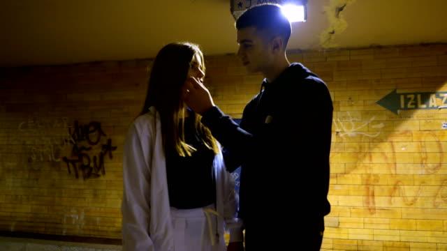 teenage couple breakup - torture stock videos & royalty-free footage