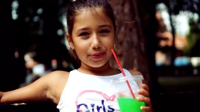teenage girl drinking juice - juice drink stock videos & royalty-free footage