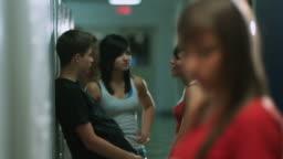 Teenage Girl Gets Picked On
