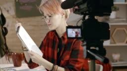 Teenage Girl Shooting Drawing Tutorial