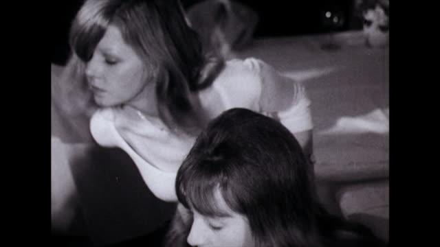 teenage teddy boys and girls dance in bar setting; 1974 - 1974 stock videos & royalty-free footage