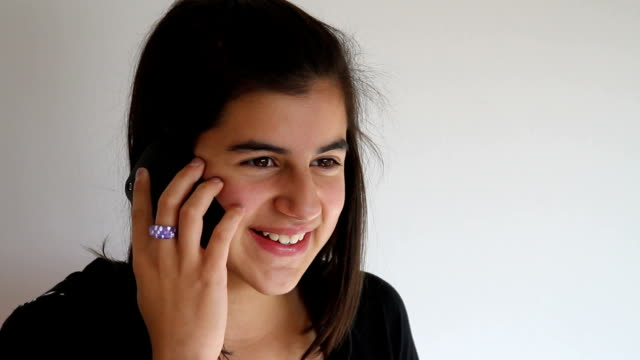 teenager cell phone - 14 15 years stock videos & royalty-free footage