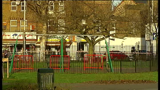 teenager murdered in west ealing england london west ealing ext paramedic equipment on ground in dean gardens dean gardens sign and police cordon... - ealing stock videos and b-roll footage