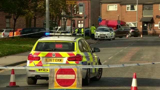 teenager pleads guilty over hit-and-run incident that left three-year-old leo durrington in critical condition; england: greater manchester: leigh:... - 30 seconds or greater stock-videos und b-roll-filmmaterial