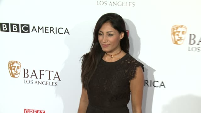 tehmina sunny at the bbc america bafta los angeles tv tea party 2016 at the london hotel on september 17, 2016 in west hollywood, california. - sunny video stock e b–roll