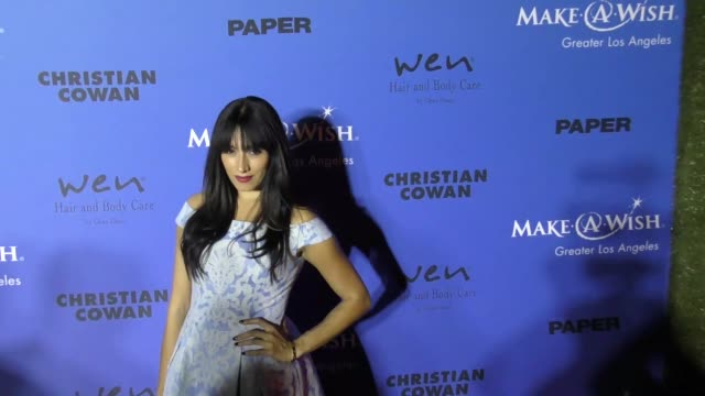 Tehmina Sunny at the PAPER Magazine Runway Benefit For MakeAWish Foundation on October 24 2017 in Los Angeles California
