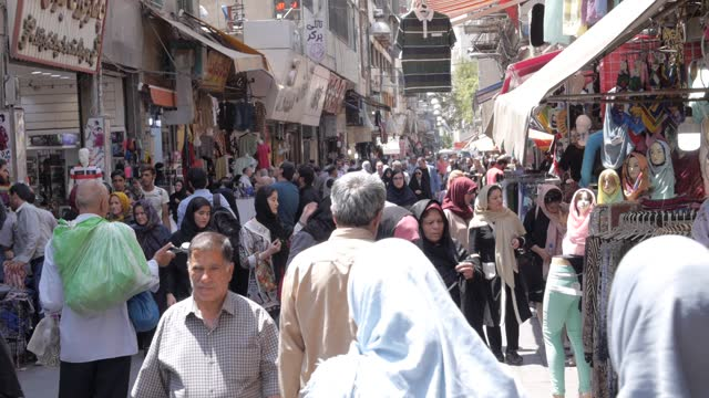 tehran busy street iran - middle east stock videos & royalty-free footage