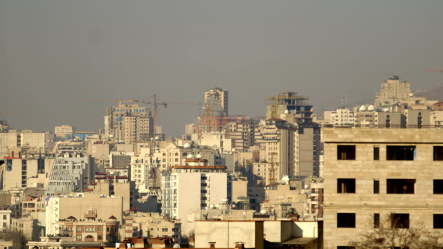tehran city buildings - iran stock videos and b-roll footage