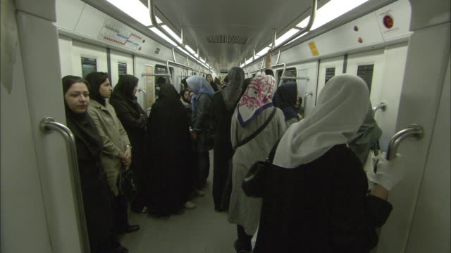 WS Tehran Metro women only car / Iran