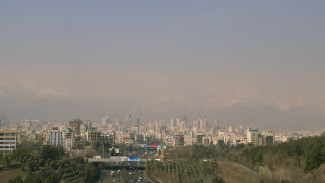 teheran skyline - tehran stock videos and b-roll footage