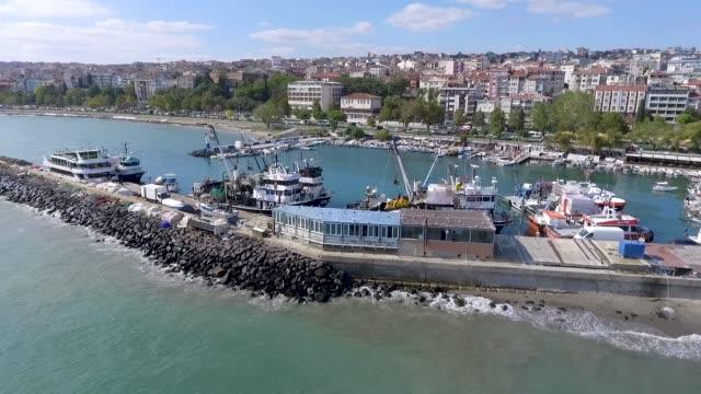tekirdag småbåts hamn - ankrad bildbanksvideor och videomaterial från bakom kulisserna