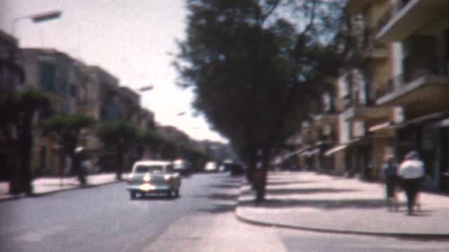 テルアビブ 1962 年 - 聖地パレスチナ点の映像素材/bロール