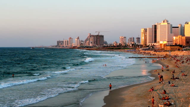 in israel tel aviv - israel stock-videos und b-roll-filmmaterial