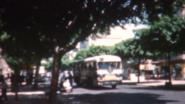 tel aviv street scene 1962 - archives stock videos & royalty-free footage