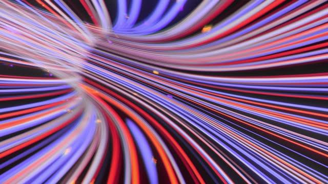 vidéos et rushes de données de télécommunication par le biais du circuit d'alimentation internet numérisation et visualisation - exchanging