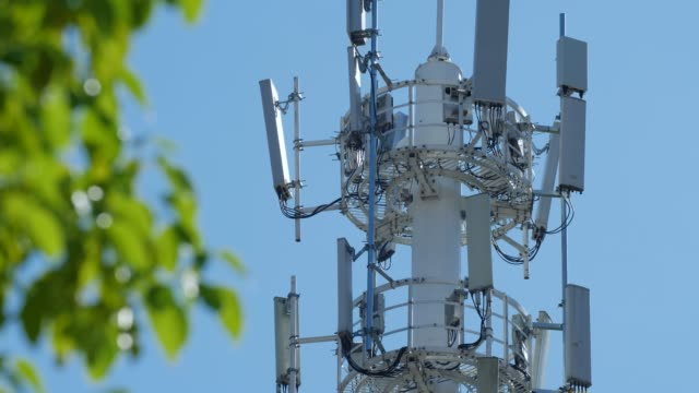 telecommunication tower - tower stock videos & royalty-free footage