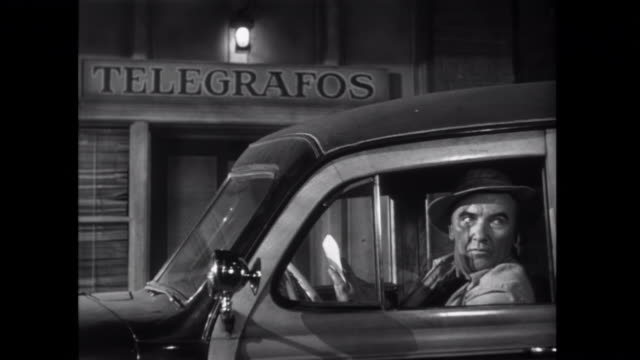 1952 a telegram and cash are delivered by a mysterious man in mexico - telegram stock videos and b-roll footage