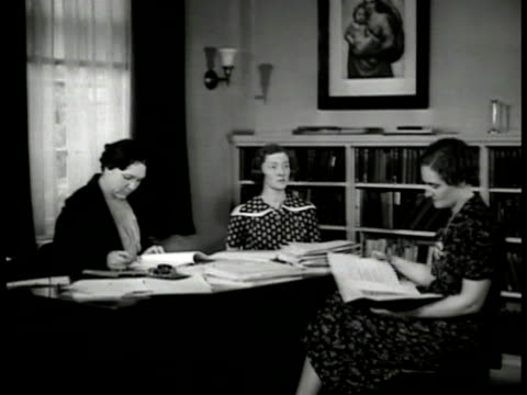 telegrams amp letters asking for adoption 'western union' ws women in office reviewing applications cu application form dramatization ms women... - telegram stock videos & royalty-free footage