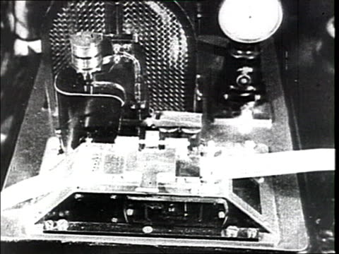 vidéos et rushes de cu telegraph and telephone cu hand pressing repeatedly on the telephone switch - 1910 1919