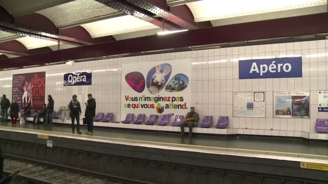 Telegraphe becomes Tweet Quatre Septembre becomes Premier Avril thirteen Paris metro stations were given new names on Friday as commuters were...