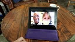 Telemedicine on a digital tablet