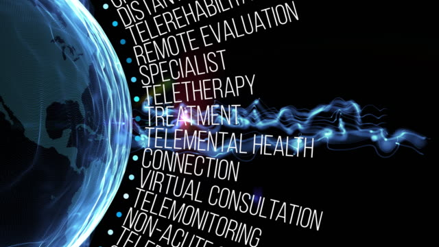 telemedicine terms - accudire video stock e b–roll