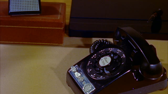 cu telephone and intercom box on desk - landline phone stock videos & royalty-free footage