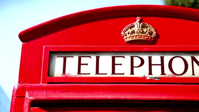 Phone booth symbolen van Londen