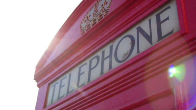 Telephone booth symbols of London