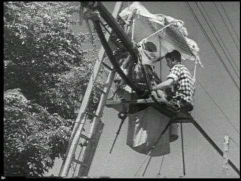 telephone lineman - 7 of 12 - see other clips from this shoot 2443 stock videos and b-roll footage