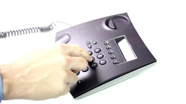 Telephone - Making a call