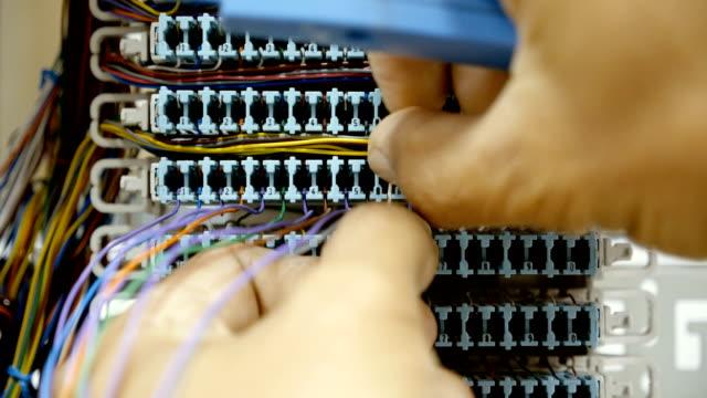 vídeos y material grabado en eventos de stock de centralita de teléfono - centralita de teléfono