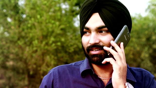 telephonic conversation - beard stock videos & royalty-free footage