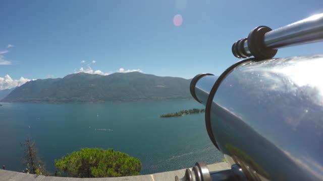 vídeos de stock, filmes e b-roll de telescope - ponto de observação