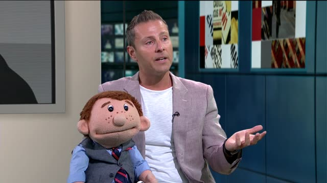 America's Got Talent Ventriloquist Paul Zerdin interview Paul Zerdin STUDIO interview SOT