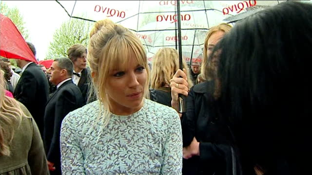 red carpet arrivals david harewood interview sot / sienna miller interview sot reporter in shot / michael palin interview sot / paul o'grady... - paul o'grady stock videos & royalty-free footage