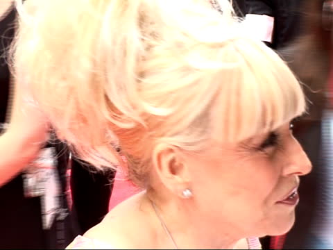television awards: red carpet arrivals and interviews; barbara windsor interview on red carpet sot - all the soaps deserve [an award], they've all... - talk show stock videos & royalty-free footage