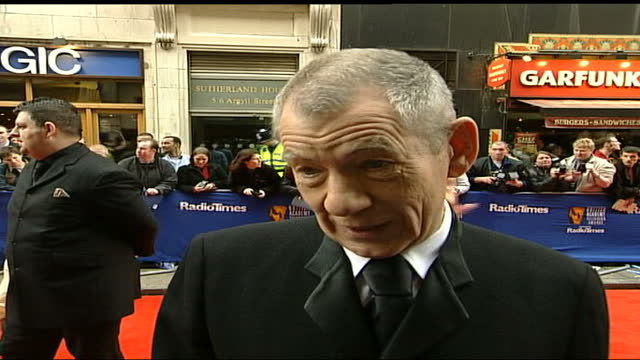 television awards: red carpet interviews; england: london: the london palladium: kenneth branagh poses for press, branagh along & spakes to press sot... - carol vorderman stock videos & royalty-free footage