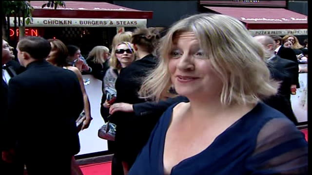 television awards; victoria wood interview sot - royal blue stock videos & royalty-free footage