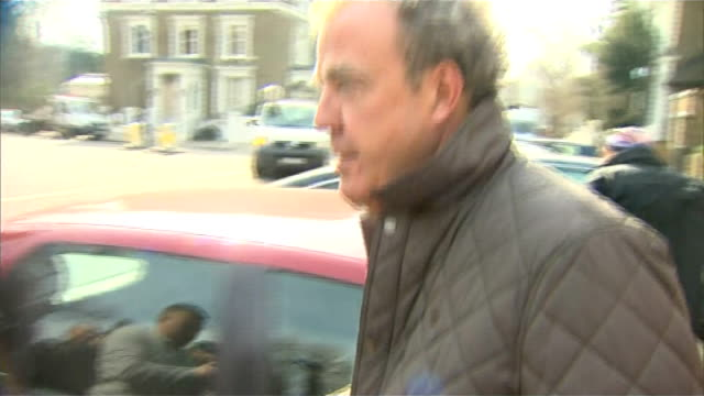 bbc launches investigation into jeremy clarkson 'fracas' england west london ext jeremy clarkson along from house through press scrum to car and... - jeremy clarkson stock videos & royalty-free footage